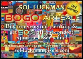 Sol Luckman BOGO Art Promo Gets You a Free Book!